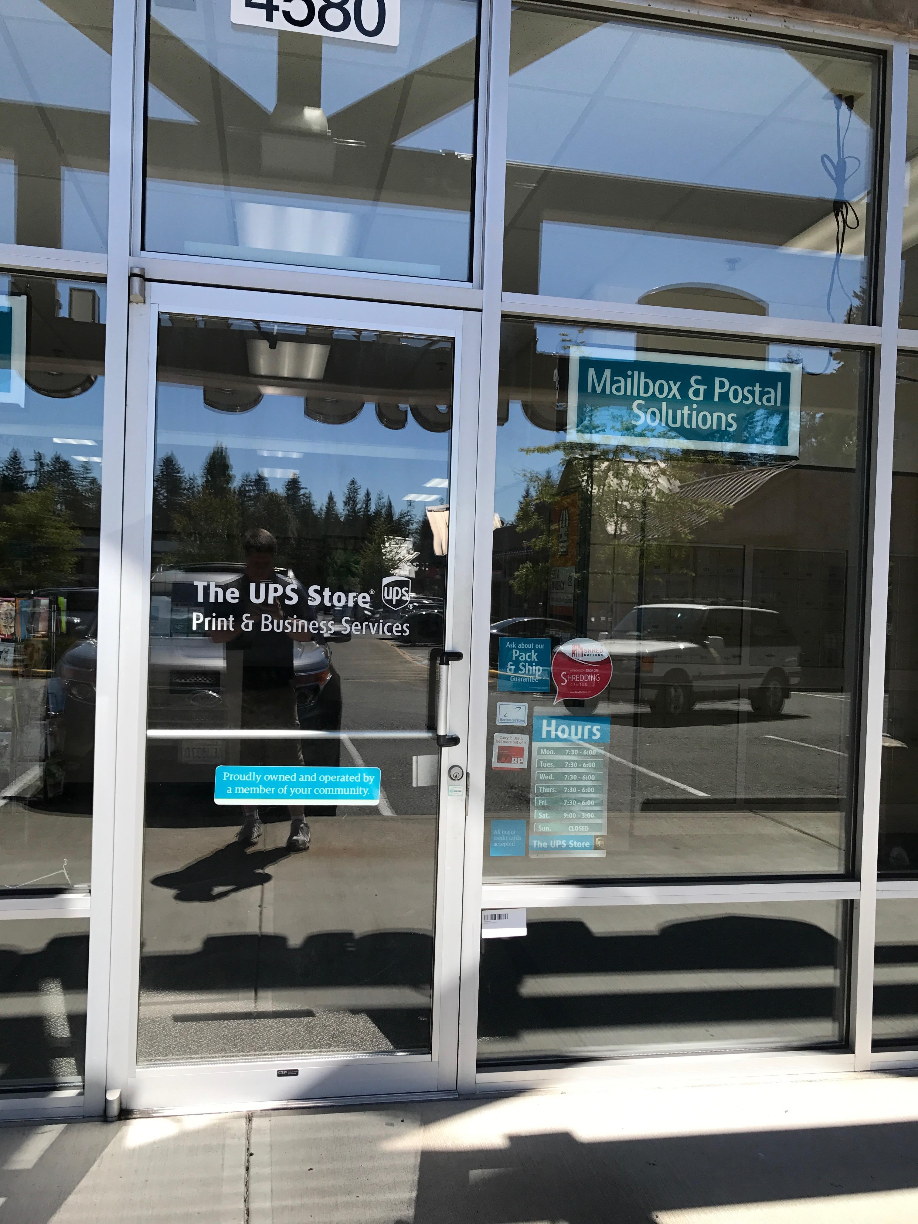 Glass door ups store - Get Directions